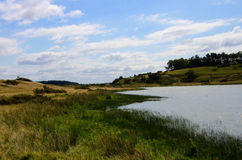 Landscape in Denmark Royalty Free Stock Photography