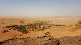 Landscape of the desert sahara algeria Stock Image