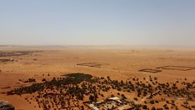 Landscape of the desert sahara algeria royalty free stock images