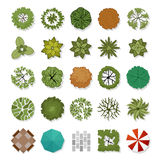 Landscape design elements royalty free stock image