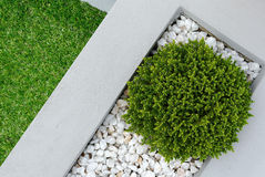 Landscape design idea Stock Image