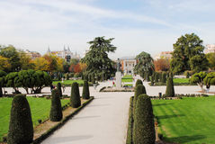 Landscape design in madrid Royalty Free Stock Image