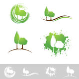 Landscape Design Set Royalty Free Stock Photo