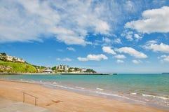 Landscape of the Devon coast. Torquay Devon England united kingdom royalty free stock photos