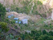 Landscape, Dharamsala hills Stock Photo