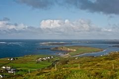 Landscape in Dingle Peninsula Stock Photo