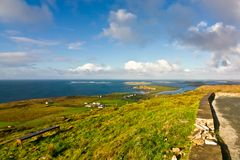 Landscape in Dingle Peninsula Royalty Free Stock Photography