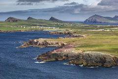 Landscape on Dingle peninsula Stock Image