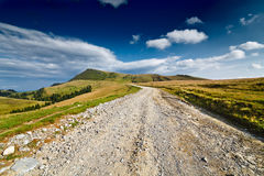 Landscape with dirt road Royalty Free Stock Photo
