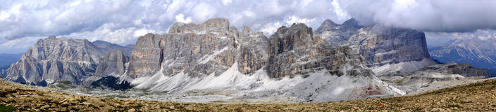 Landscape Dolomites royalty free stock photo