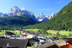 Landscape in the dolomites alps Royalty Free Stock Images