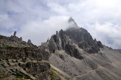 Landscape Dolomites - Monte Paterno Royalty Free Stock Photo