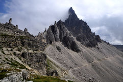 Landscape Dolomites - Monte Paterno Stock Photography