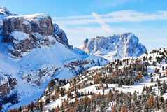 Landscape with Dolomites mountain, Italy Stock Photography
