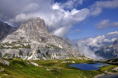 Landscape Dolomites Royalty Free Stock Photography