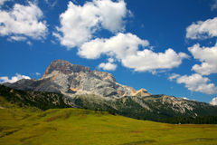 Landscape of the Dolomites - Sexten Stock Photography