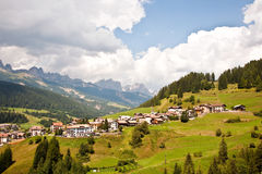 Landscape in the Dolomites Royalty Free Stock Photo