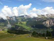 Landscape of Dolomiti mountains Stock Photos