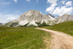 Landscape of Dolomiti Stock Images