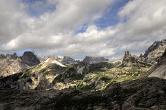 Landscape Dolomity Royalty Free Stock Photography