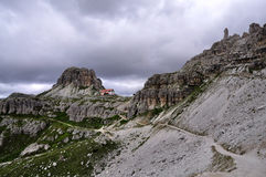 Landscape Dolomity - Torre di Toblin Royalty Free Stock Images