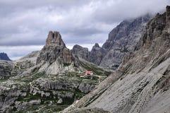 Landscape Dolomity - Torre di Toblin Stock Photos