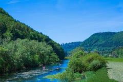 Landscape donau Royalty Free Stock Photo