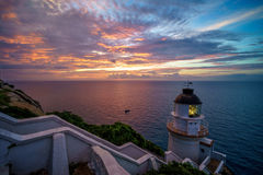 Landscape of Dongyong Lighthouse Stock Photography