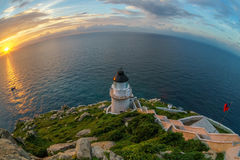 Landscape of Dongyong Lighthouse Royalty Free Stock Photography