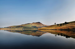Landscape of dovestone on a clear sunny day Royalty Free Stock Image