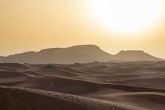 Landscape of Dubai Desert. While on Safari royalty free stock photography