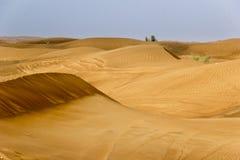 Landscape of Dubai Desert. While on Safari stock photo