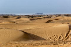 Landscape of Dubai Desert Royalty Free Stock Photography