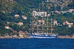 Landscape of Dubrovnik Stock Photography