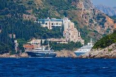 Landscape of Dubrovnik Stock Images