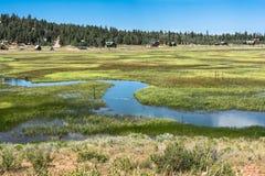 Landscape of Duck Creek Village, Utah Stock Photo