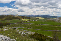 Landscape in Durmitor, Montenegro Royalty Free Stock Photos