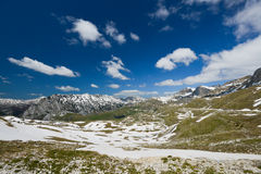 Landscape in Durmitor, Montenegro Royalty Free Stock Photo