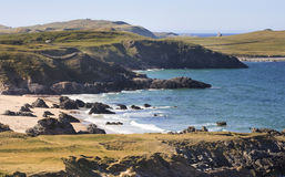 Landscape of Durness area, Scotland Royalty Free Stock Images