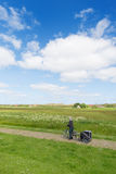 Landscape Dutch island Terschelling Royalty Free Stock Images