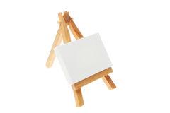 Landscape easel Stock Photography