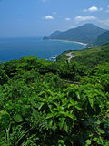 The Landscape of East Coast in Taiwan Stock Image