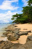 Landscape of El Nido. Philippines Royalty Free Stock Photo