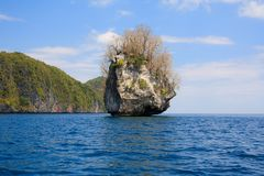 Landscape of El Nido. Philippines Royalty Free Stock Image