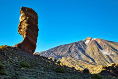 Landscape of El Teide Stock Images