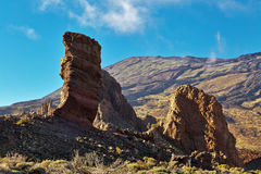 Landscape of El Teide Stock Photos