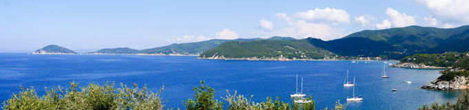 Landscape of Elba Island Tuscany Italy Royalty Free Stock Image