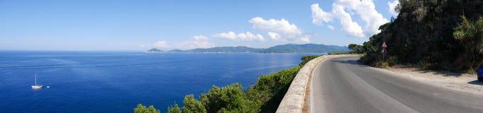 Landscape of Elba Island Tuscany Italy Royalty Free Stock Photography