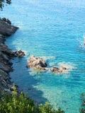 Landscape of Elba Island Tuscany Italy Royalty Free Stock Images