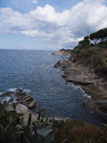 Landscape of Elba Island Tuscany Italy Stock Photography